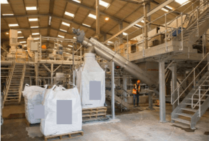 Mineral microfibrillated cellulose composite production plant in the UK